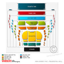 Prudential Hall Seating Chart New Jersey Performing Arts Center Tickets New Jersey