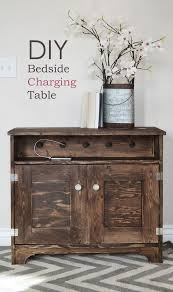bedside table with charging station. Beautiful With With Bedside Table Charging Station N