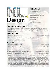 Interior Design Resume Format For Fresher Junior Samples Designer