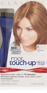 Clairol Nice 'n Easy Root Touch-Up 6 Matches Light Brown Shades 1 Kit