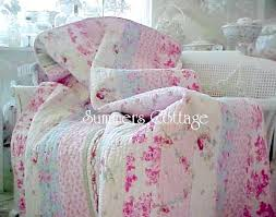 shabby cottage chic bedding twin quilts