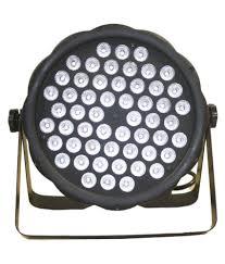 Dj Led Par Light Anoralux 54 Pcs 2 Watts 8 In 1 Led Flat Par Light Dj Lights