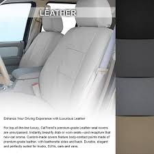 rear leather beige custom seat coverscaltrend color