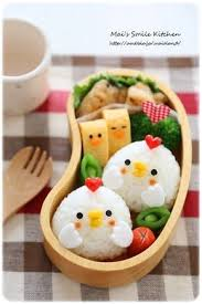 Bento Box Decorations chicken onigiri bento Food Art Pinterest Bento Bento box 55