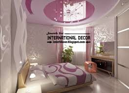 Suspended Stretch Ceiling For Small Bedroom Pink CeilingFalse Ceiling Designs For Small Rooms