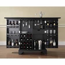Crosley Furniture LaFayette Expandable Bar Cabinet Walmart