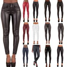 vince lambskin leather leggings skinny stretch pants black with tags m for