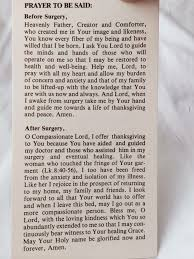 Prayer Before Surgery Quotes Delectable Pictures Catholic Prayer Before Medical Procedure Daily Quotes