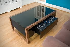 surface tension nucleus contemporary arcade coffee table