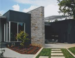 Modern Stucco Homes House Utilizes Hydronic - Building Plans .