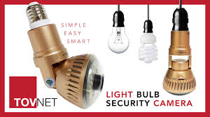 Tovnet Worlds First Light Bulb Wifi Security Camera By Tovnet