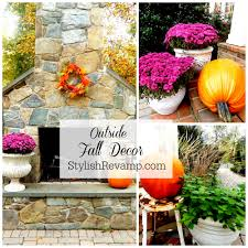 Outside Fall Decor Fall Archives Stylish Revamp