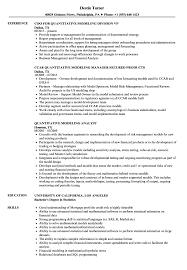Modeling Resume Quantitative Modeling Resume Samples Velvet Jobs 23
