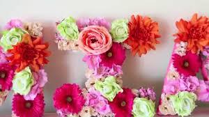 large foam letters decoration instadecor us large flower letter