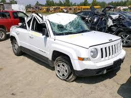 jeep patriot 2014 white. Beautiful Jeep 1C4NJPBA6ED705368  2014 Jeep Patriot Sp 20L Left View Inside White