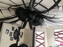 office halloween decorations. Simple Decorations Halloween Office Decorations  Giant Ceiling Spider Intended Office Decorations O