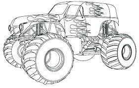 Wheels Monster Truck Coloring Pages Fondos De Pantalla