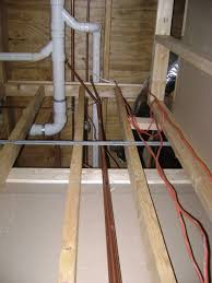 How To Finish A Basement Bathroom Water Supply Plumbing Image ...