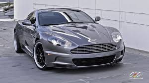 aston martin db9 matte black. aston martin dbs with custom finished cec forged wheels db9 matte black