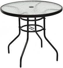 round patio table beideo com