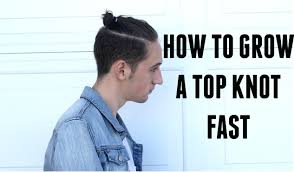 Topknot Hair Style how to grow a top knot man bun fast hairstyle tips youtube 8590 by wearticles.com