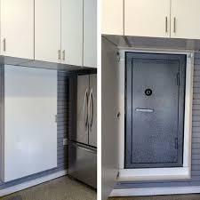 safe in garage unique storage ideas