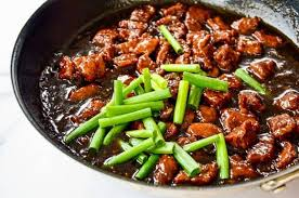 Once your beef is marinating, you are halfway done in making this recipe. 30 Minute Mongolian Beef Just A Taste