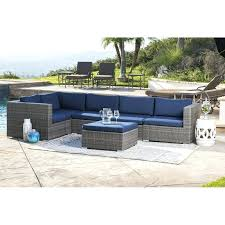 patio sectionals bungalow rose outdoor wicker patio sectional with cushions regarding decor patio sectionals canada