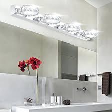 Bathroom Vanity Lighting Interesting Vanity Lighting Bathroom Brushed Nickel Vanity Light Vanity Lighting