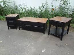 a farmhouse coffee table set
