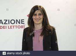 Chiara Appendino mayor of Turin seen during the inauguration day of the  XXXII Turin International Book Fair Stock Photo - Alamy