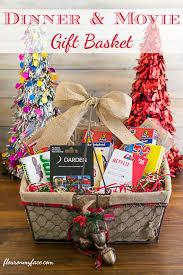 dinner and gift basket via flouronmyface