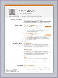Modern Cv Sample Modern Cv Template Word Free Download Uk Resume Resume