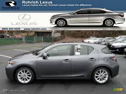 Nebula Gray Pearl Lexus Ct Hybrid Premium