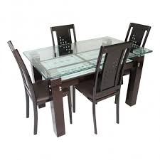 wooden dining room furniture. Mason - Wooden Dining Table Set In Sheesham Wood Pic2 Room Furniture