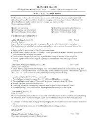 Mortgage Loan Officer Resume Mortgage Loan Processor Job Description New Loan Officer Resume Examples