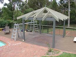 How To Build A Hip Roof Gazebo