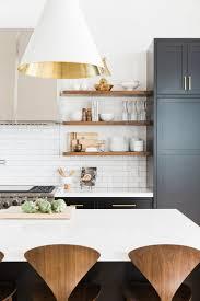 interior design fo open shelving kitchen. Wood Open Shelves || Studio McGee Interior Design Fo Shelving Kitchen