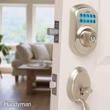 Upgrade Front Door Locks With Keyless Door Locks Family Handyman