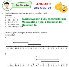 Ajukan pertanyaan tentang tugas sekolahmu. Lengkap Kunci Jawaban Halaman 35 36 Buku Senang Belajar Matematika Kelas 6 Jawaban Tematik Terbaru