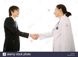 pharmaceutical s representative stock photos pharmaceutical female doctor and pharmaceutical s representative shaking hands stock image