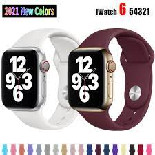 Dây Đồng Hồ Thông Minh Apple Watch 6 5 4 3 2 1 Kích Thước 38mm 42mm 40mm  44mm tốt giá rẻ