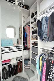 diy closet room. From Cluttered Mess To Mini-Dressing Room, A DIY Closet Makeover - DeeplySouthernHome Diy Room R
