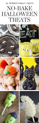 16 Terrifyingly Tasty No-Bake Halloween Treats