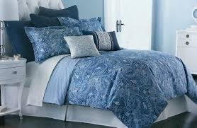 paisley print bedding paisley oversized duvet cover set blue paisley print baby bedding