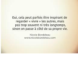 Citations De Nicole Nicole Bordeleau