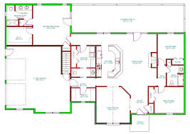Country Style House Plan 3 Beds 2 Baths 1800 Sqft 456 1 1550 Sq Ft Floor Plans With Garage