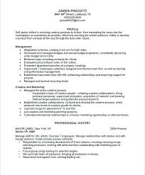 Musician Resume Template Musicians Resume Template On Best Resume