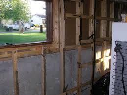 Tear down and framing exterior walls Greg MacLellan