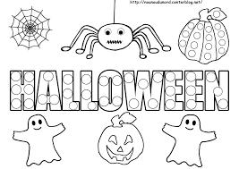 Dessin De Halloween A Imprimerl L